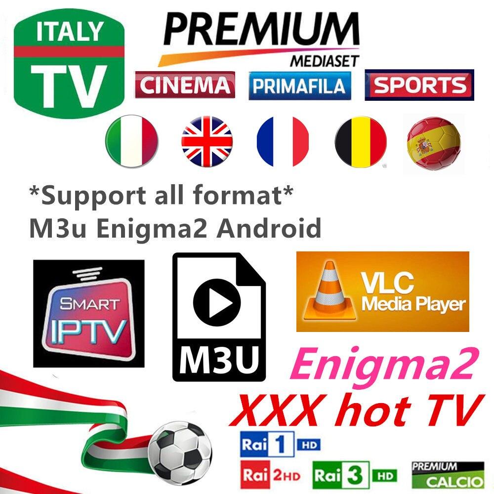 Beste Italia Iptv M3u Abonnement Iptv Italien Uk Deutsch Albanien Mediaset Premium Vod Für Android Box Enigma2 Smart Tv Vlc Unterhaltungselektronik
