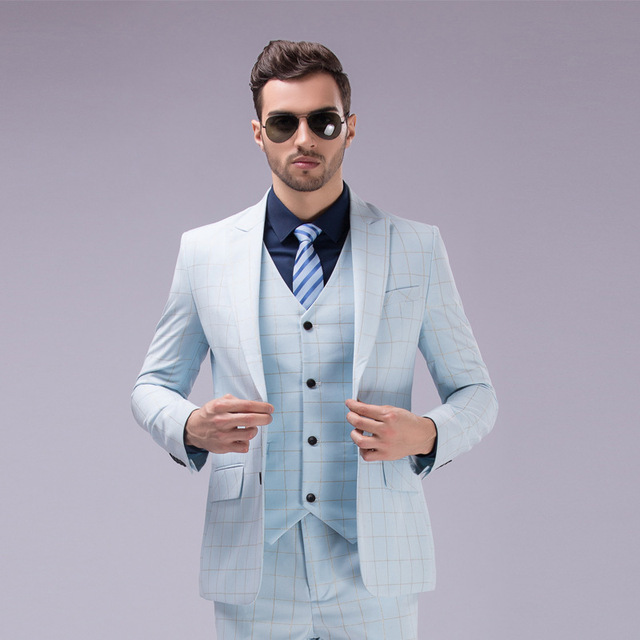 Aliexpress.com : Buy High Quality 3 Piece Gentleman Custom Made ...