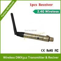 2 4G transferencia inalámbrica DMX512 1 piezas receptor