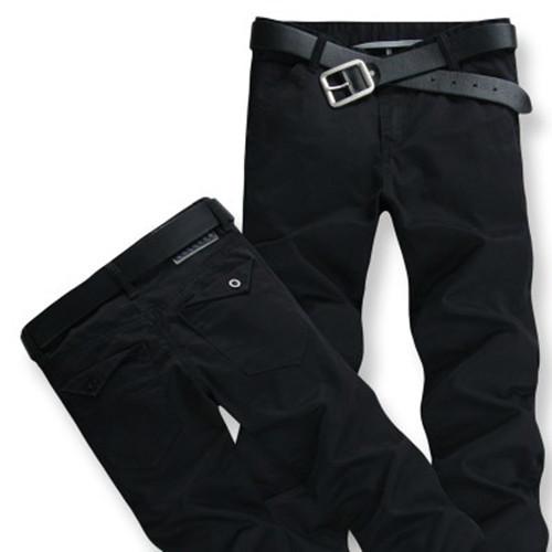 Envío libre masculino más el tamaño 100% de algodón pantalones casuales pantalones pantalones largos sueltos ropa de hombres de Gran tamaño 52 54 para 170 kg