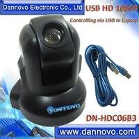 DANNOVO USB HD PTZ Webcam Video Conferencing System Camera 3x Zoom Support Microsoft Lync Cisco Jabber
