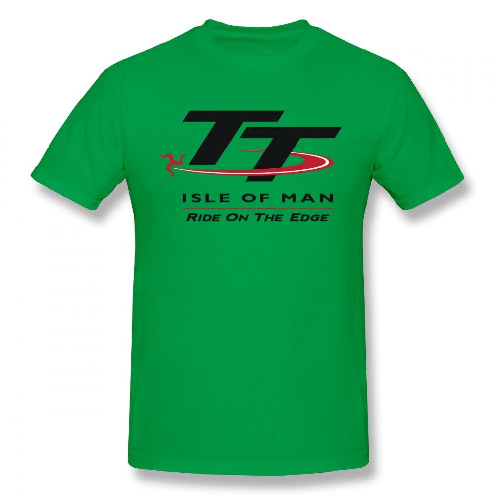 TT Isle Of Man T-Shirt White Long Sleeve S-5XL