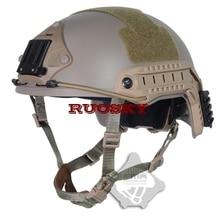 Спортивные шлемы TB-FMA регулируемый размер страйкбол тактический Пейнтбол баллистический шлем для страйкбола юбки и Охота