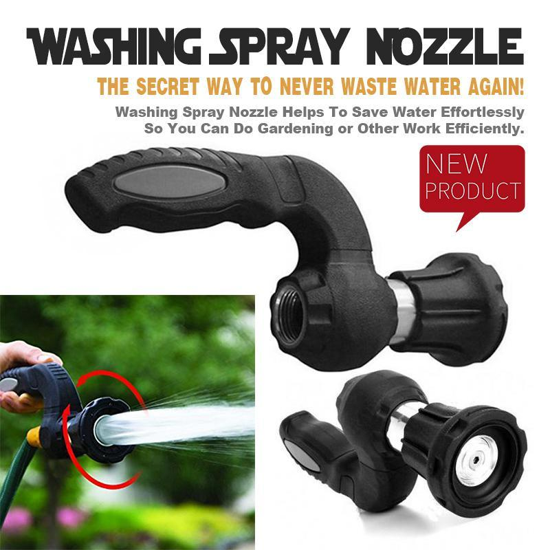 HTB15WC5doGF3KVjSZFmq6zqPXXaE Mighty Power Hose Blaster Fireman Nozzle Lawn Garden Super Powerful Home Original Car Washing by BulbHead Wash Water Your Lawn