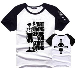 Uma peça portgas d ace t camisa masculina menino algodão t camisetas anime tshirt