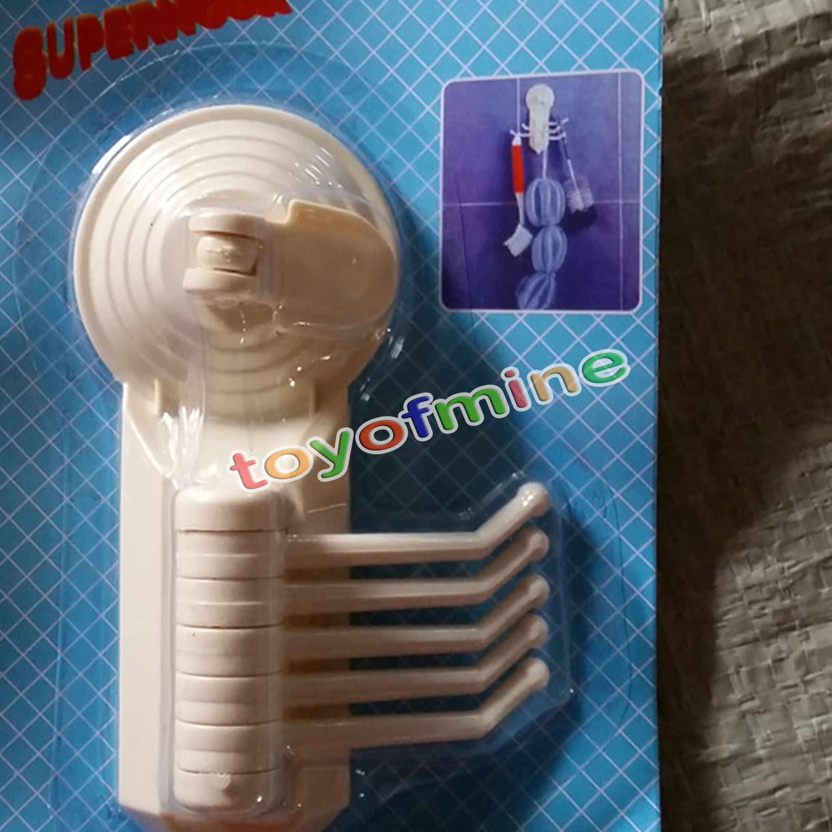 Japoński styl plastikowe wielofunkcyjne przyssawki typu 5 sztuk łazienka robe haki do kąpieli akcesoria ścienne Sucker cup uchwyt z hakiem