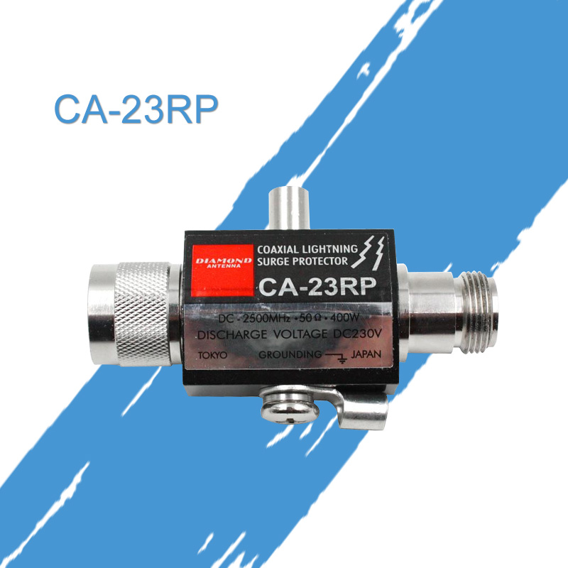Общие Diamond CA23RP коаксиальный молнии surge protector 2,5 ГГц 400 Вт N разъем для автомобиля радио основной станция