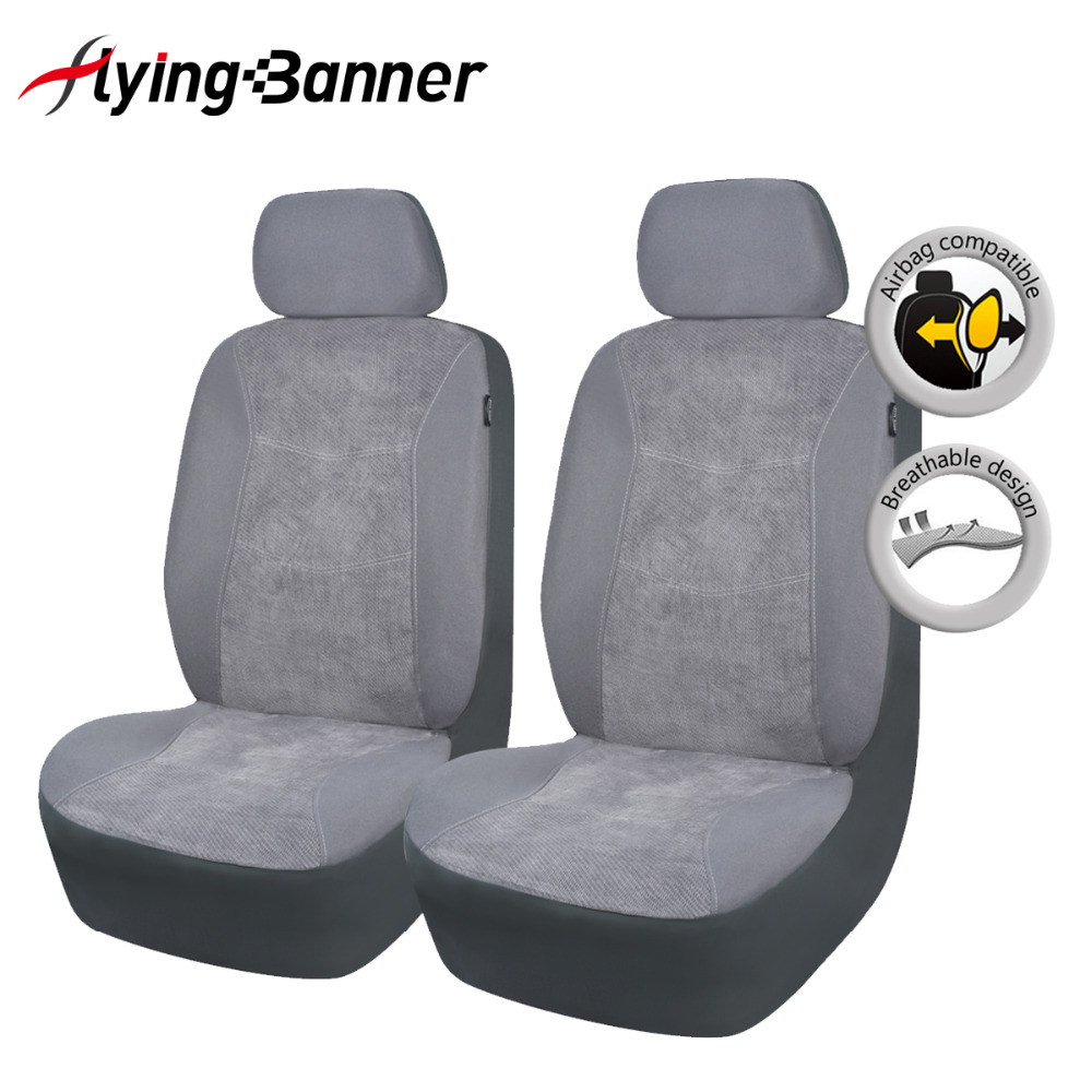 Flying Banner Front Car Seat Cover Car Seat Covers Airbag Compatible Universal car seat cover