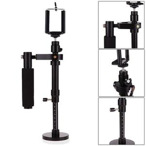 Image 5 - Camera Stabilizer S30 Aluminum Alloy Handheld Gimbals Stabilisateur Smartphone Tripod Heads Phone Clip For SJCAM Gopro 7 Camera