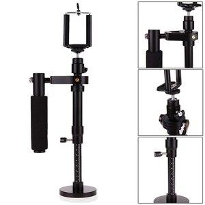 Image 5 - Kamera Stabilisator S30 Aluminium Legierung Handheld Gimbals Stabilisateur Smartphone Stativ Köpfe Telefon Clip Für SJCAM Gopro 7 Kamera