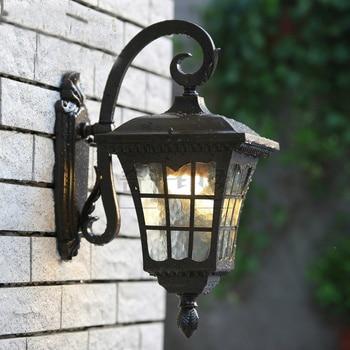 Vintage Waterproof Outdoor Wall lamp for Retro Villa Creative Waterproof outdoor wall lamp