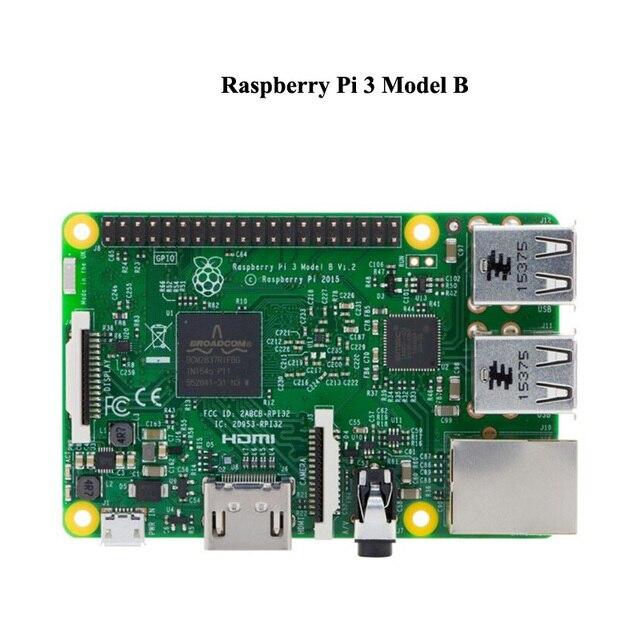 Em Estoque 2016 Original do REINO UNIDO Apresentou Raspberry Pi 3 Modelo B 1 GB RAM Quad Core 1.2 GHz CPU 64bit WiFi & Bluetooth