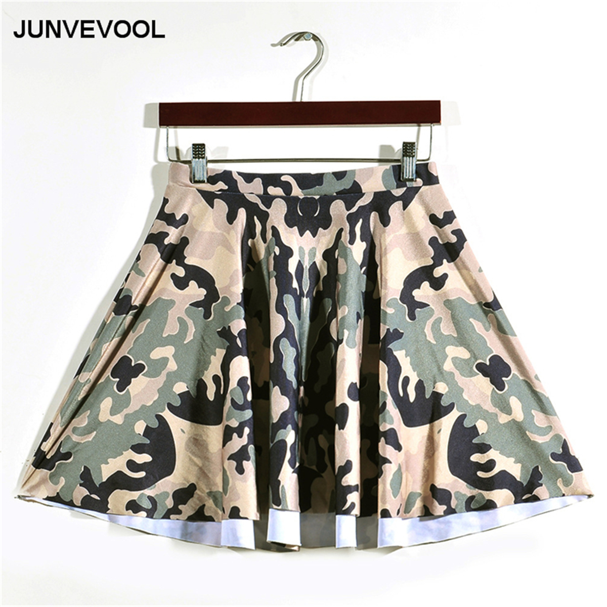 Camouflage Summer Skirt Women Fashion Hot Sale Beachwear Club Party Office Working Skirts Ladies Digital Printing Sexy Clothing