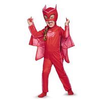 PJ Masks Owlette Classic Toddler Child Costume Kid Costume Boy Costume
