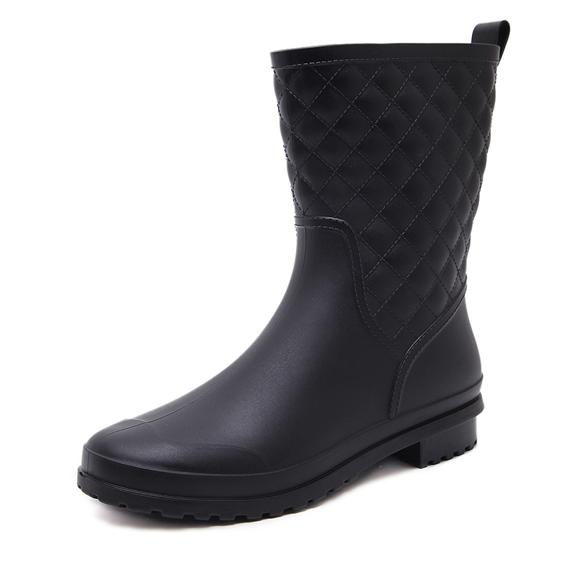 Autumn Shoes Woman Waterproof Rain Boots Women Shoes Pvc