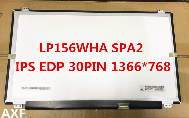 NEW 15.6 LCD LED schermo IPS LP156WHA SP A2 LP156WHA SPA2 LP156WHA-SPA2 1366*768 Laptop Display 30EDP 15 6 lcd led ips screen 1366x768 hd 30pin lp156wha sla2 lp156wha spa2 lp156wha sl a2 laptop display matrix