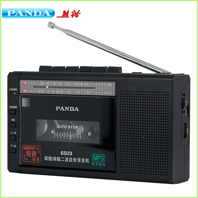 PANDA 6503 записывающая лента, встроенный микрофон, запись ключей, u диск, tf карта, воспроизведение музыки, fm радио WM|Радиоприёмники|   | АлиЭкспресс