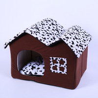 High Quality Pet Products Luxury Dog House Cozy Dog Bed Puppy House Kennel Pet Sleeping Bed Cat Cushion Kitten Bed Mats Pet Shop