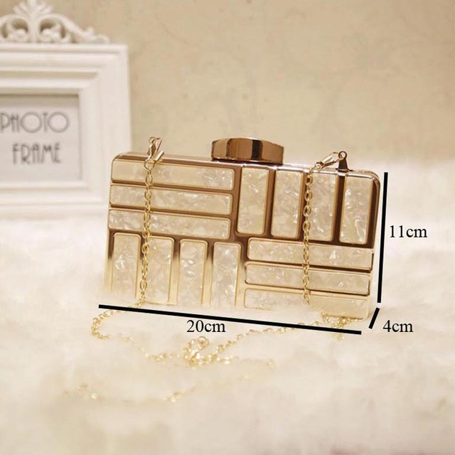 Acrylic Luxury Clutches  bag 3