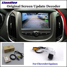 Liandlee Original Screen Update System For Chevrolet Equinox 2017 8 inch Rear Reverse Parking Camera Digital Decoder Rear camera liandlee original screen update system for mercedes benz gle class rear reverse parking camera digital decoder rear camera