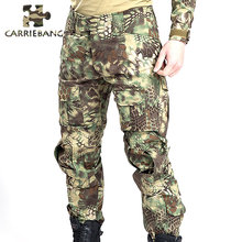 3d1833df7f7193 Combat Cargo Printed Camouflage Many Pocket Overalls Commandos Military  Training Tactical Pants Military Clothing for Men