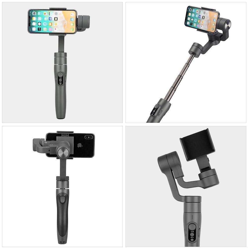 Image 4 - FeiyuTech Feiyu Vimble 2 Портативный смартфон карданный 3 осевой шарнирный стабилизатор видео для устройства с 183 мм полюс для iPhone X 8 XIAOMI samsung s8-in Ручные стабилизаторы from Бытовая электроника