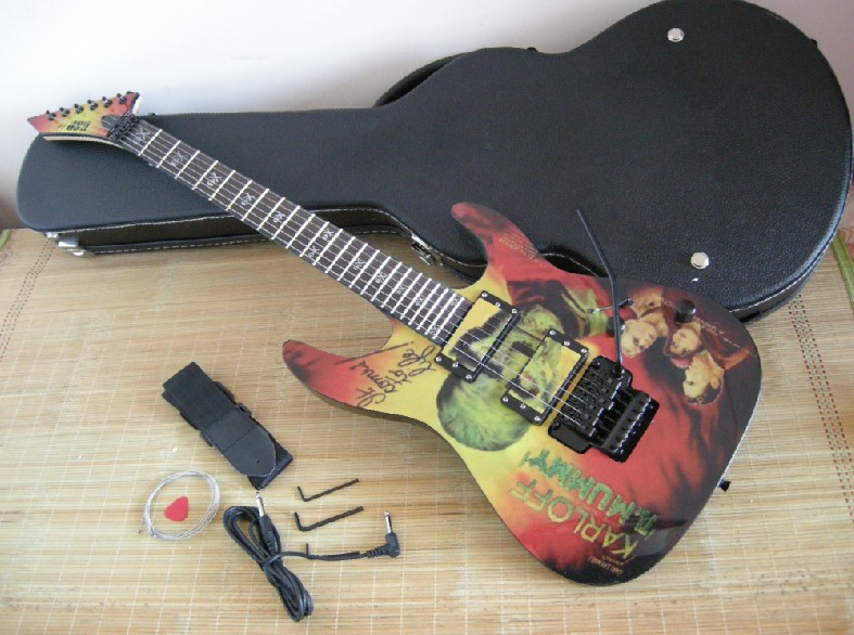 Factory Wholesale Custom Kirk Hammett ESP KH2 M II Mummy Karloff Tlmummy Electric Guitar With Hard Case In From Sports Entertainment On
