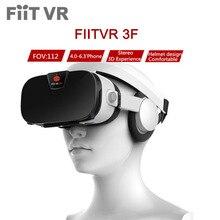 """Fiit VR 3F стерео видео 3D Очки VR гарнитура виртуальной реальности смартфон Google картонный шлем vrbox для 4 дюймов до 6.4 """"телефонов"""