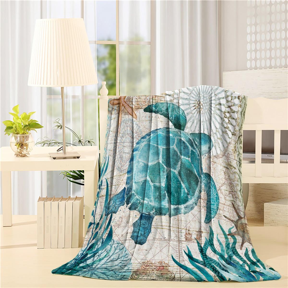 Grande Polaire Tartan couverture jeter canapé lit Picnic Couverture Multi Usage chaud carreaux