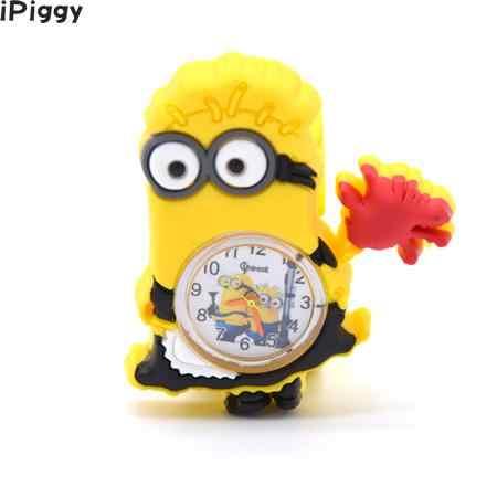 cbfd7df6921df ... iPiggy 3D Eye Despicable Me Minion Cartoon Watch Precious Milk Dad Cute  Children Clock Baby Kid