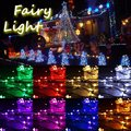 5M/10M/15M/20M 8 Colors 50/100/150/200 LEDs Fairy String Light Outdoor Christmas Wedding Party Lamp EU Plus AC 220V