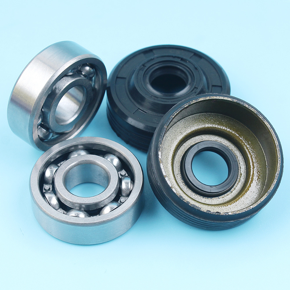 Crankshaft Ball Bearing Oil Seal Kit For Partner 350 351 370 371 390 420 Chainsaw Replacement Parts