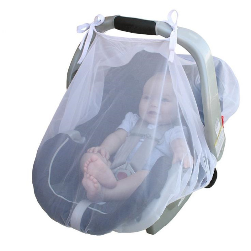 Baby Stroller Pushchair Mosquito Insect Net Buggy Infant Carrier Car Seat Cradles Cover Netting Baby Carriage Mosquito InsectNet