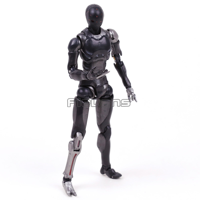 1000 Toys TOA Heavy Industries Synthetic Human Body Kun Black Color Ver. 1/12 Scale Action Figure Toy image