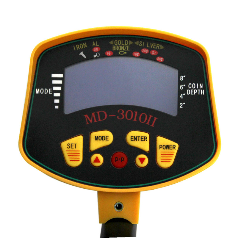 High Sensitive Pulse Induction Metal Detector 3010 II Ground Penetrating Radar