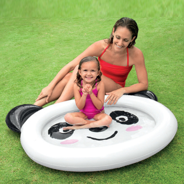 49a79d063f5 Panda Style Inflatable Swimming Water Pool piscina Baby Kids Home Use  Outdoor Playground Dabble Swimming Bathing Pool zwembad