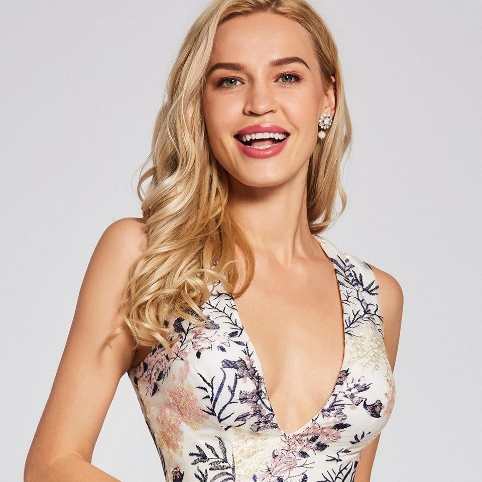 a75d6055bc8b5 US $29.69 50% OFF Dressv ivory cocktail dress cheap v neck a line  sleeveless zipper up graduation party dress elegant fashion cocktail  dress-in ...
