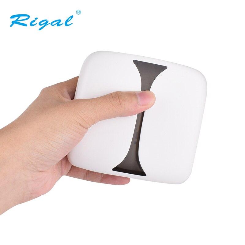 MINI projecteur Rigal technologie DLP, résolution 1280x1080, Android 7.1 WIFI proyecteur, LED projecteur HD Portable pour Home Cinema