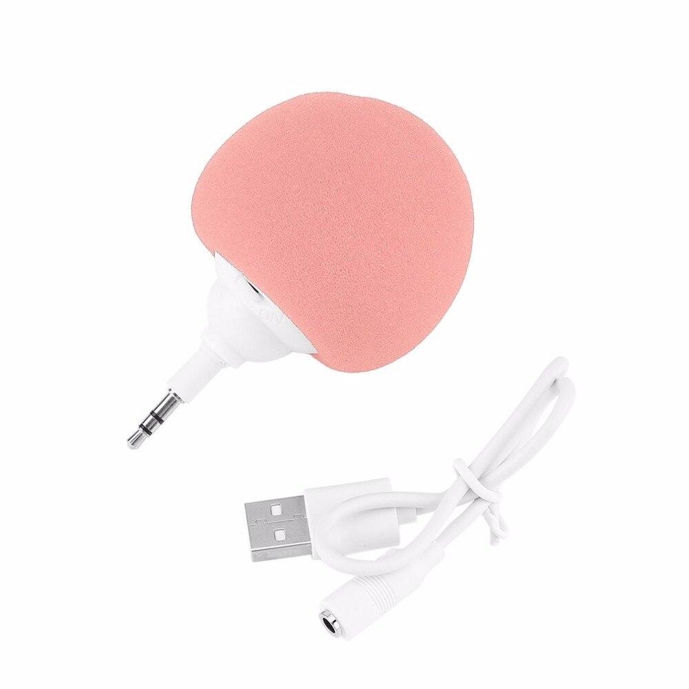 portable speaker soundbar subwoofer PC Music 3.5mm Mini Speaker Player Audio Dock USB Cable caixa de som speakers dropshipping