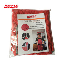 Car Wash Care Microfiber Apron Waterproof Professional Detail Auto Cleaning Apron Accpet Customable MARFLO Brilliatech