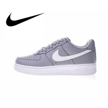 Original auténtico Nike Air Force 1 zapatos bajos de skateboard para mujer Zapatillas deportivas al