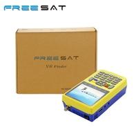 FREE SAT v8 finder digital finder 3.5 inch LCD digital sat Finder DVB S2 MPEG 4 Free sat v8 satellite Finder satlink ws 6933