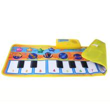 HIINST 2019 New 80*28CM Touch Play Keyboard Musical Music Singing Gym Carpet Mat Best Kids Baby Gift Q40 AUG28(China)