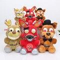 3 unids/set 25 cm 15 cm Cinco Noches En Freddy juguete FNAF Foxy bonnie Springtrap Freddy Pesadilla Muñeca Juguetes de Peluche
