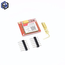 1pcs Smallest SIM800L GPRS GSM Module MicroSIM Card Core BOard Quad-band TTL Serial Port(China)