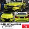 Hot New High Glossy Metallic Vinyl Film Car Stickers 1 52M X 20M Glossy Pearl Films