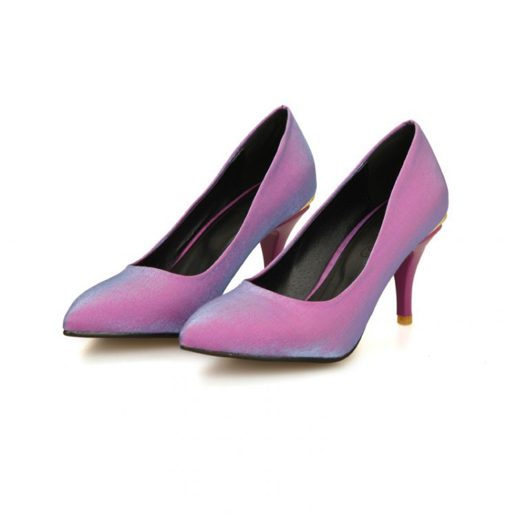 Compare Prices on Purple High Heel Pumps- Online Shopping/Buy Low