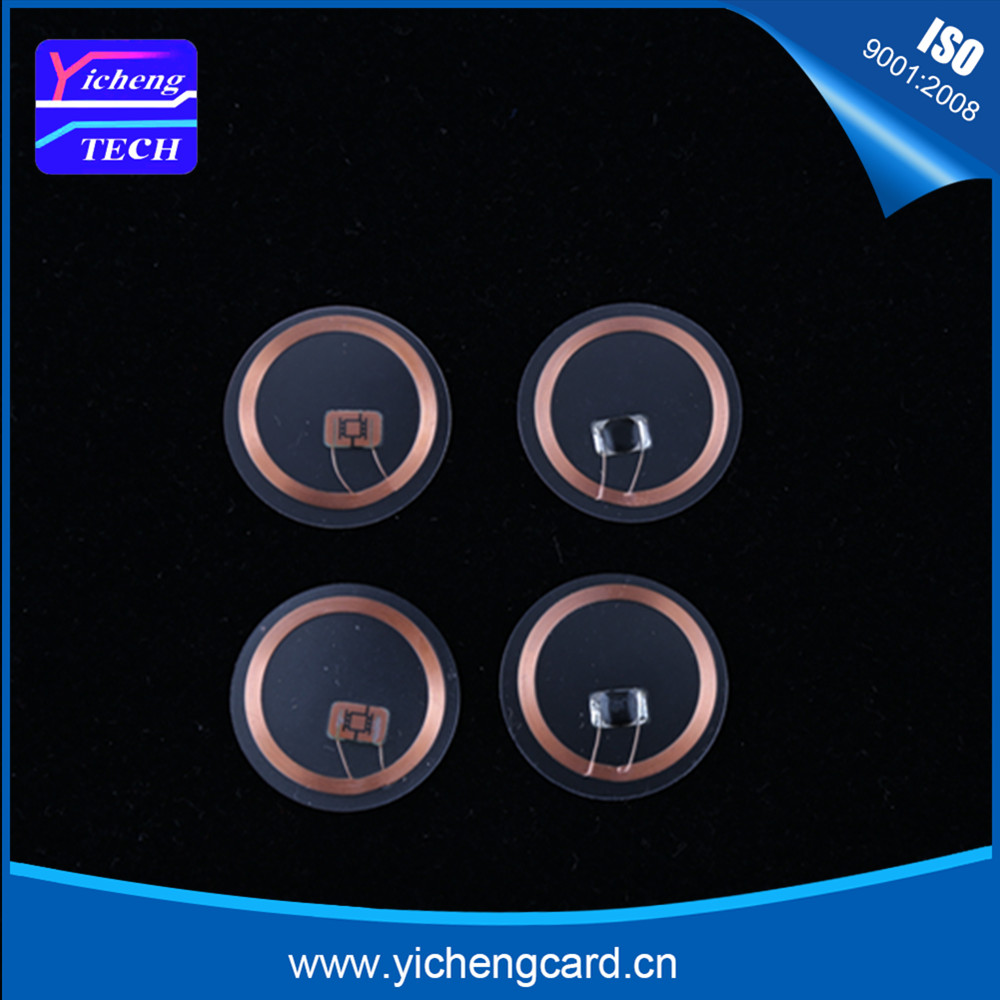 Free Shipping New Arrival 5pcs RFID Card 125KHZ EM-marin TK4100 Clear Tag Transparent Coins RFID Tag For Access Control
