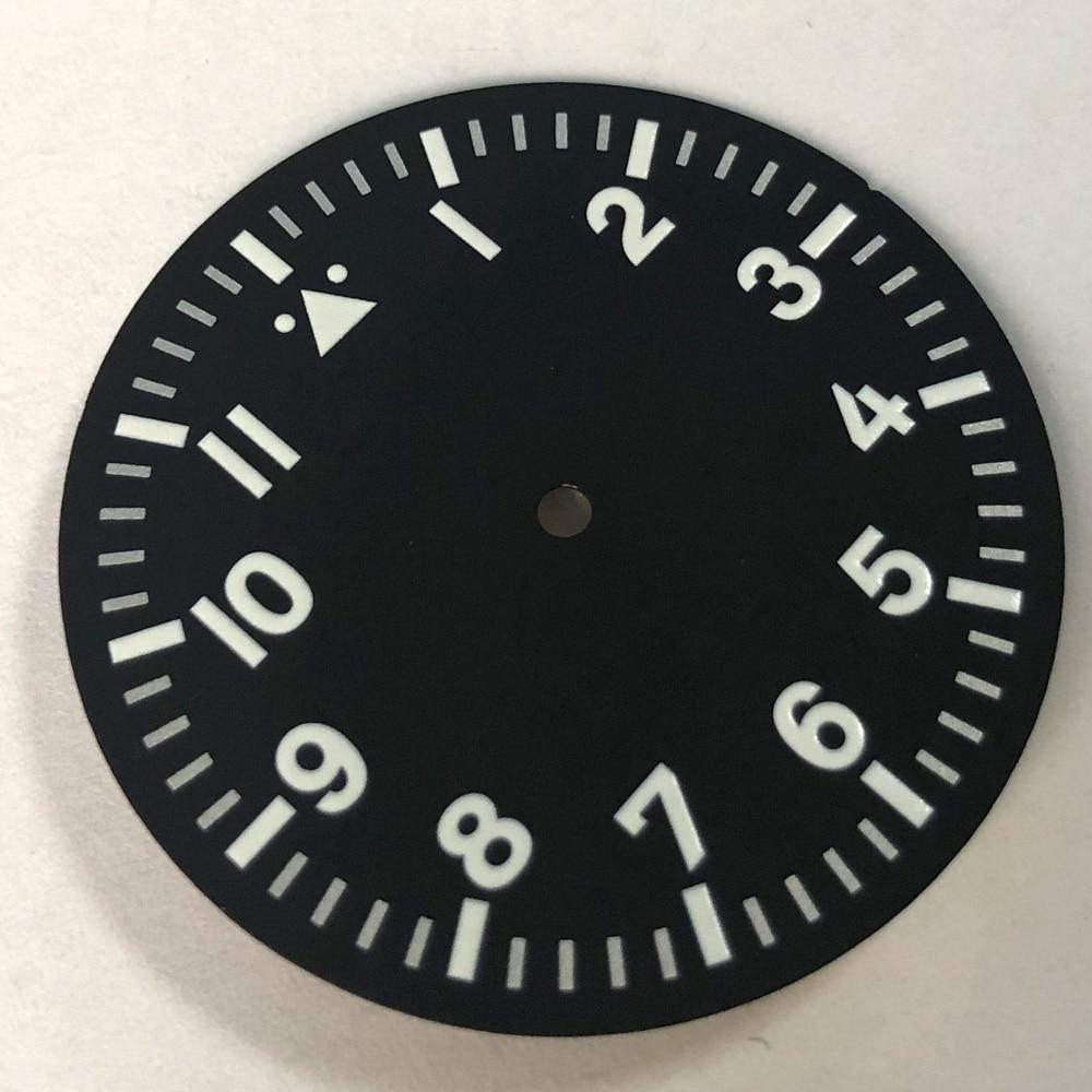 35.5mm Watch Dial Luminous Fit Miyota 8205 8215 821A,Mingzhu DG2813/3804 Movement