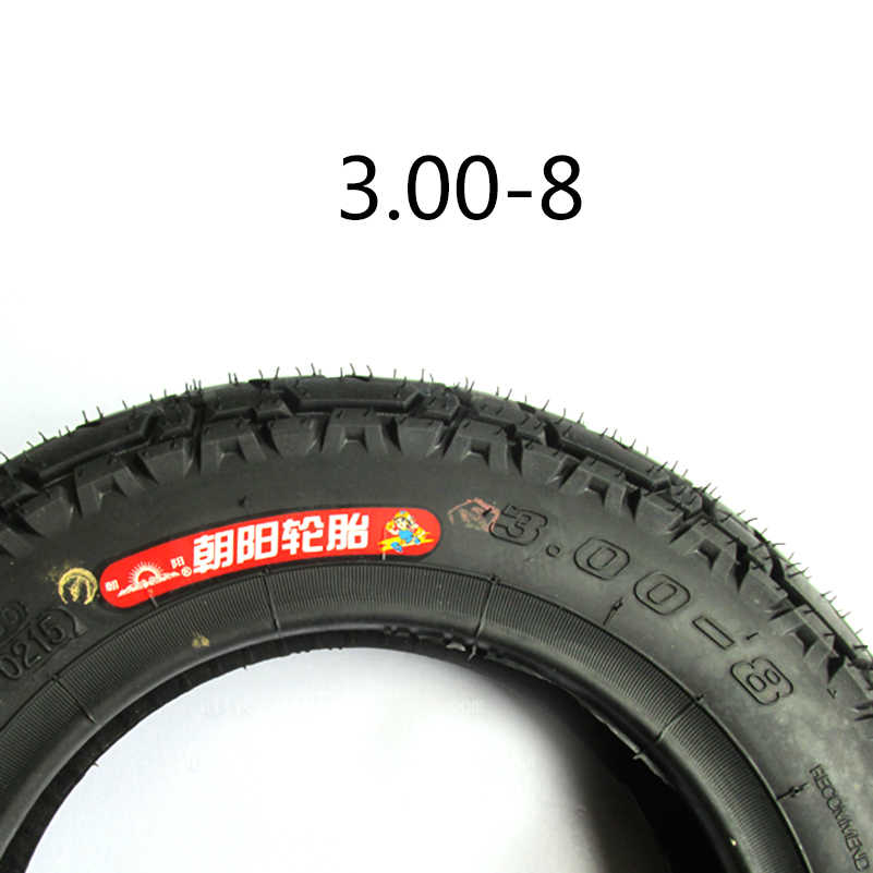3.00-8 Tire tube tyre 3.00-8 / 300-8 6PR + 3.00-8 inner tyre for Gas and Electric Scooters Mini Motorcycle Warehouse Vehicles